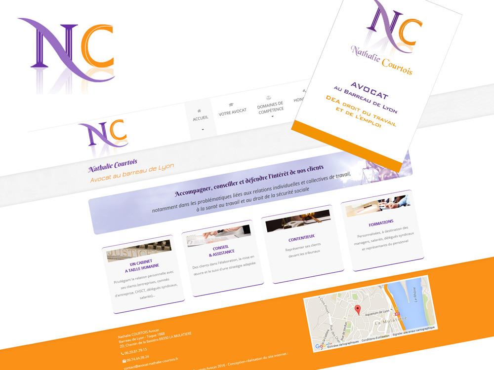création logo, charte graphique, site internet