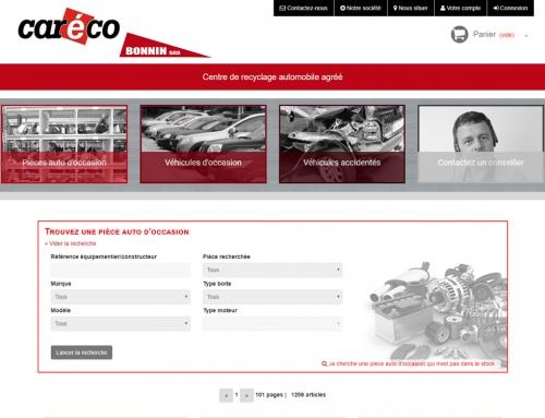 Caréco BONNIN – Site de vente en ligne