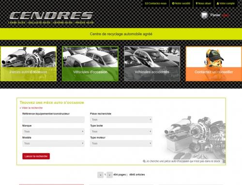 Cendres – Site de vente en ligne