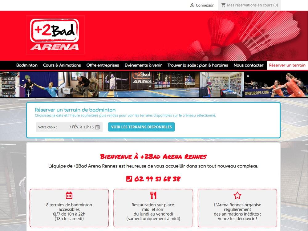 +2bad Arena Rennes