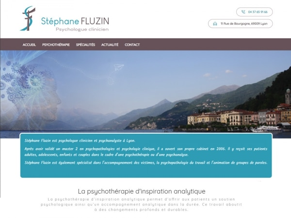 Stéphane Fluzin Psychologue